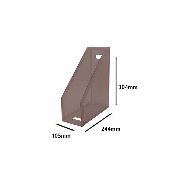セキセイ クライマックスボックス(A4フリー) スモーク SSS-805-70 1セット(5個)
