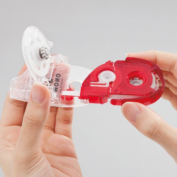 修正テープ詰替 モノYX幅6mm用10個