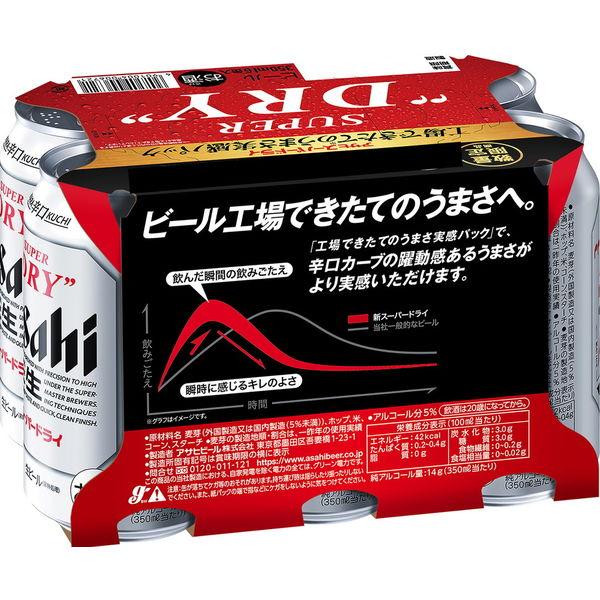 スーパードライ鮮度実感パック350×6缶