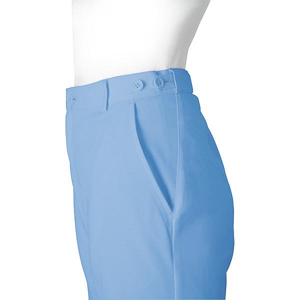 ミズノ ユナイト パンツ(女性用) サックス 5L MZ0015 医療白衣 ナースパンツ 1枚 (取寄品)