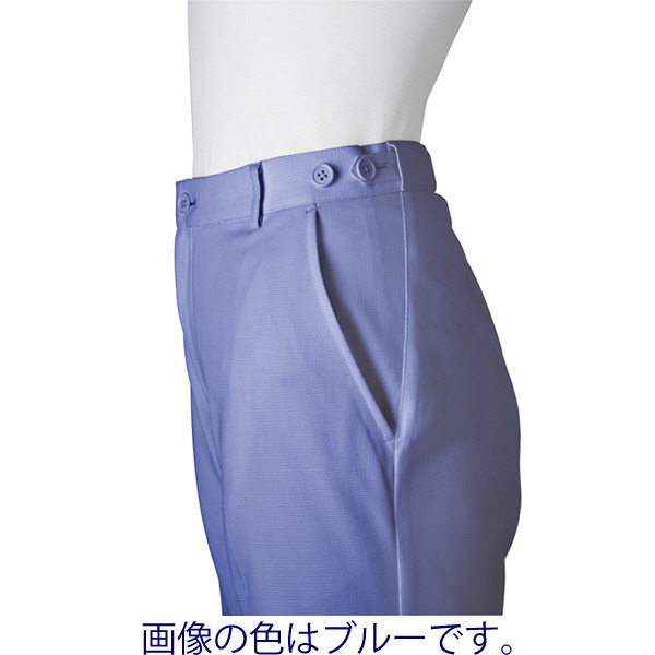 ミズノ ユナイト パンツ(男性用) グリーン LL MZ0017 医療白衣 メンズパンツ 1枚 (取寄品)