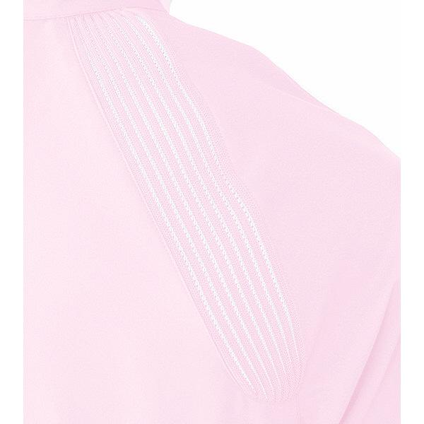 ミズノ ユナイト ケーシージャケット(女性用) ピンク L MZ0081 医療白衣 ナースジャケット 1枚 (取寄品)