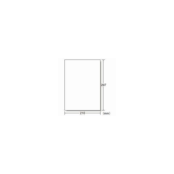 【大容量】 エーワン ラベルシール 表示・宛名ラベル プリンタ兼用 マット紙 白 A4 ノーカット1面 1箱(500シート入) 28719(取寄品)