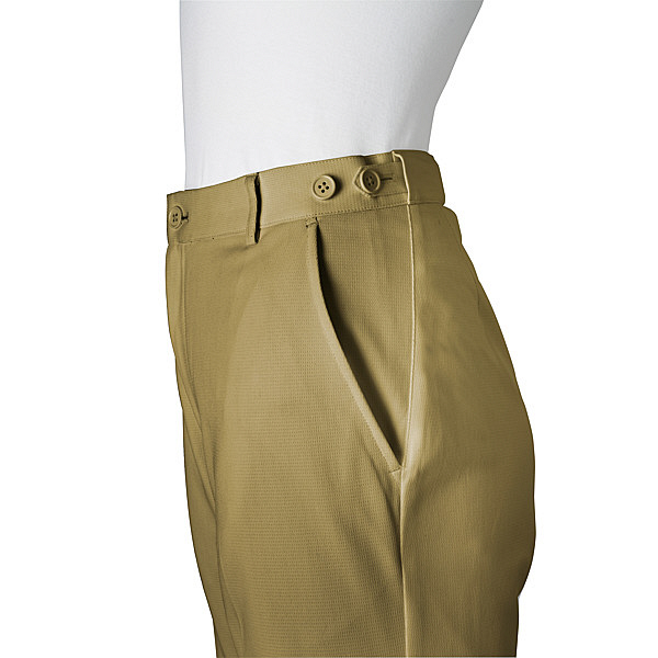 ミズノ ユナイト パンツ(女性用) ベージュ S MZ0087 医療白衣 ナースパンツ 1枚 (取寄品)