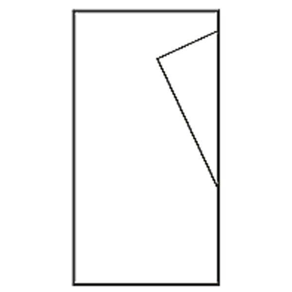 今村紙工 大阪折黒白 不祝儀袋 5111-5 5枚