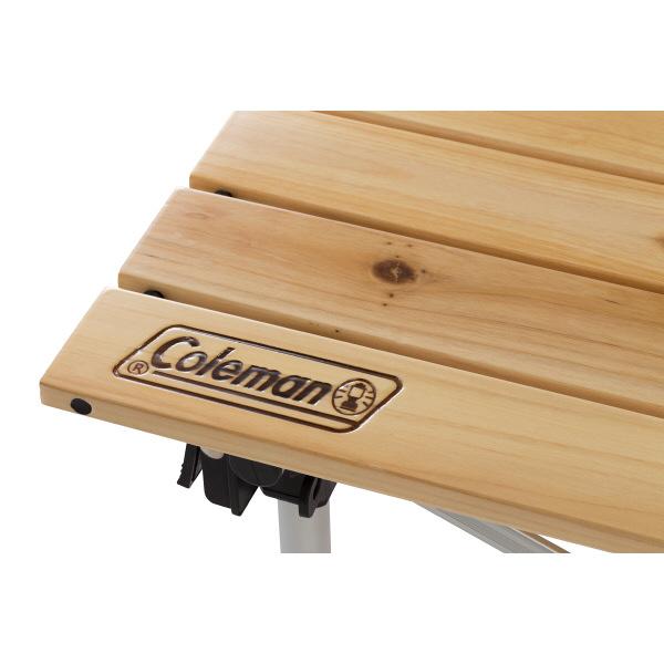 コールマン Nウッドロールテーブル65