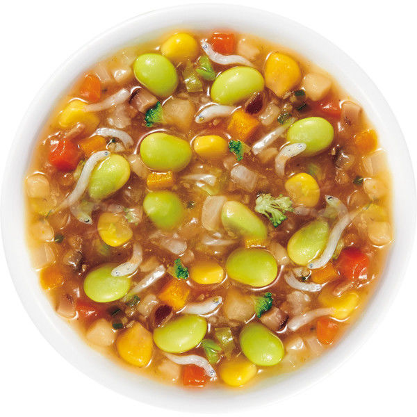1食分の野菜 しらすの野菜炒め
