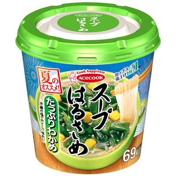 スープはるさめ たっぷりわかめ21g3食