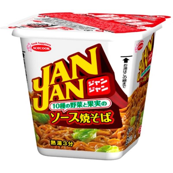 JANJANソース焼そば 104g 3食