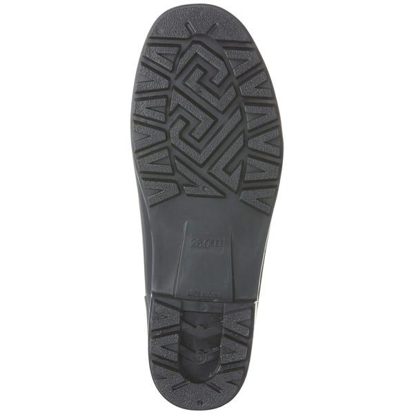 アスクル 「現場のチカラ」 耐油黒長靴 25.5