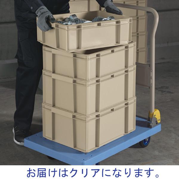 現場のチカラ ASコンテナ 28L クリア 1箱(10個入)