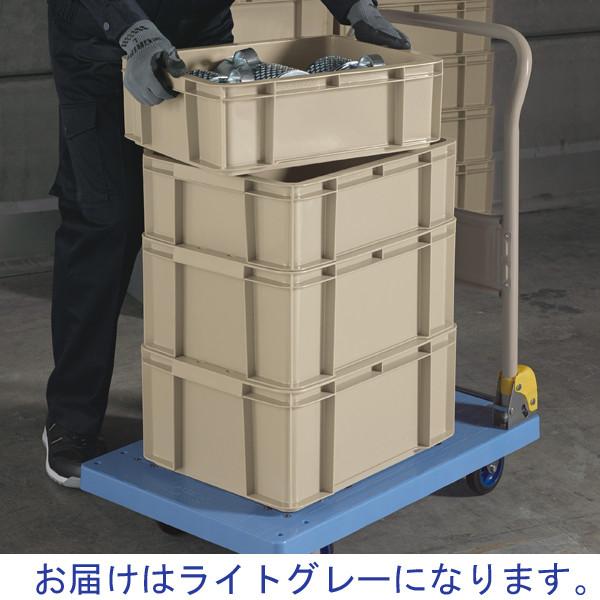 現場のチカラ ASコンテナ 28L ライトグレー 1箱(10個入)