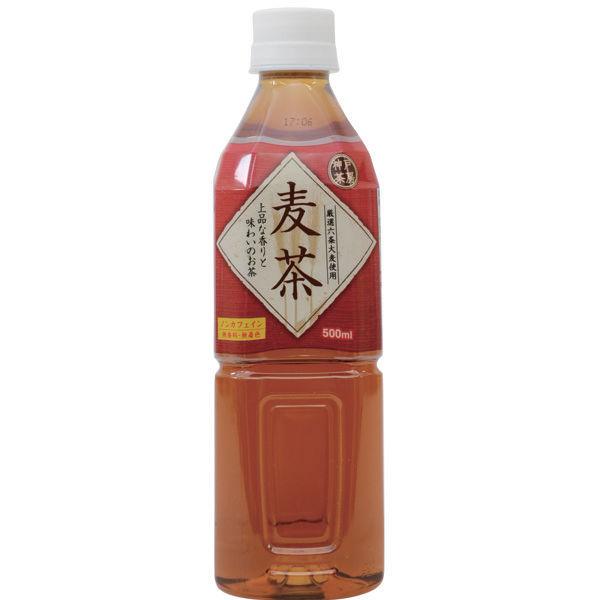 神戸茶房麦茶 500ml 6本