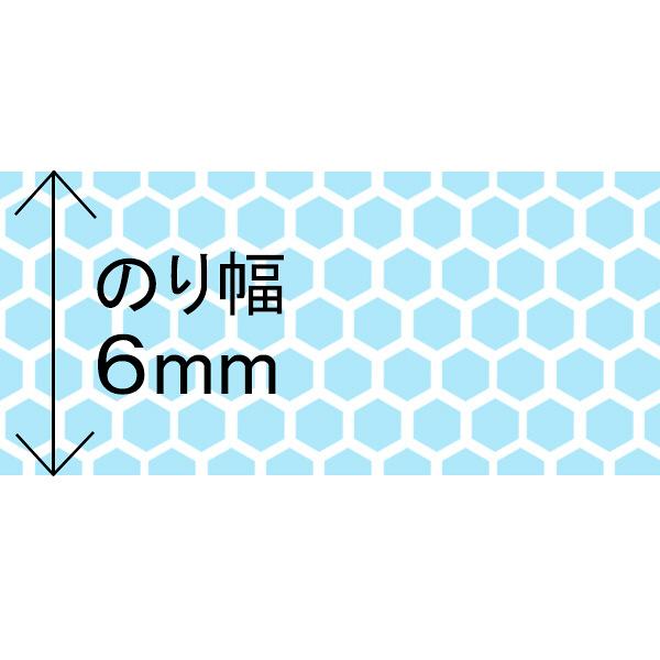テープのり 使いきりタイプ 8m ブルー