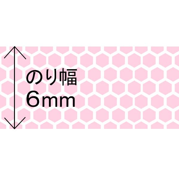 テープのり 使いきりタイプ 8m ピンク