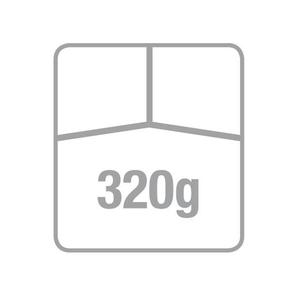バガスモールドフードパック仕切付200枚