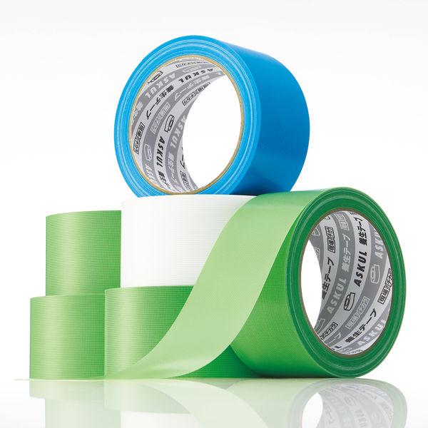 アスクル「現場のチカラ」 養生テープ 半透明 幅50mm×25m巻 1セット(150巻:30巻入×5箱)
