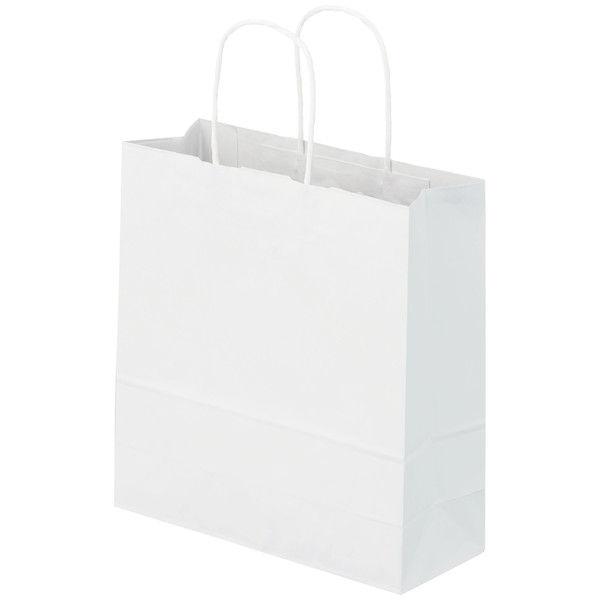 丸紐 手提げ紙袋 白 S 50枚