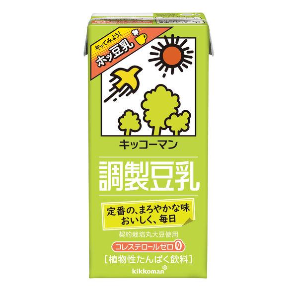 調製豆乳 1000ml 6本