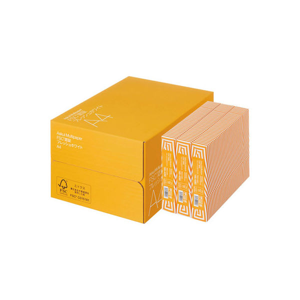 FSC認証フレッシュホワイト A3 1箱
