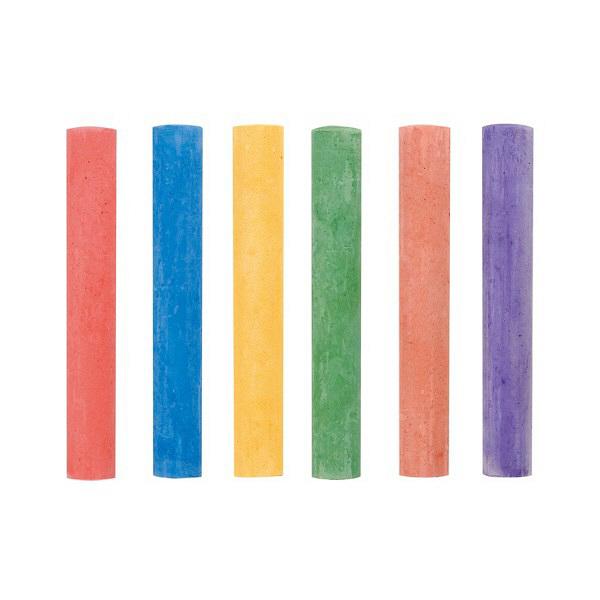 天神チョーク 色 6本入 6S-8 日本白墨工業 (直送品)