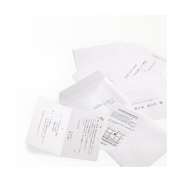 マルアイ 挨拶状洋2封筒50枚ケント風FSC GP-ヨ55 (直送品)