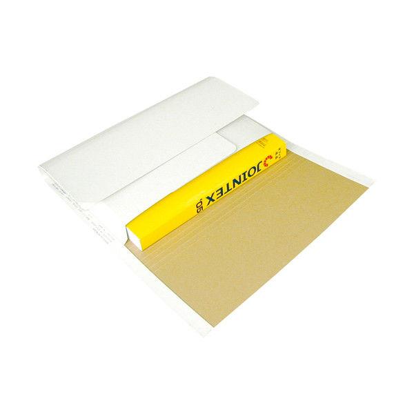うずまき 万能小包 タ-180-10 A4 10枚入 白/ナチュラル ワンタッチテープ付 (取寄品)