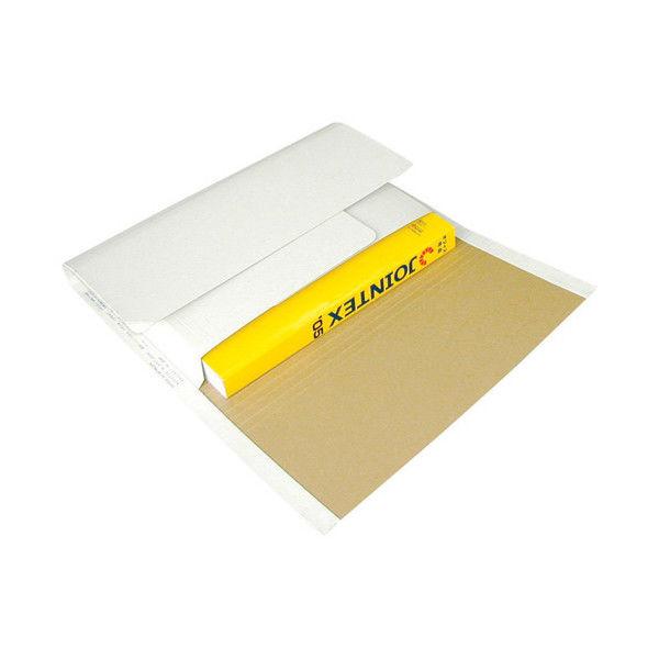 うずまき 万能小包 タ-190-10 B4 10枚入 白/ナチュラル ワンタッチテープ付 (取寄品)
