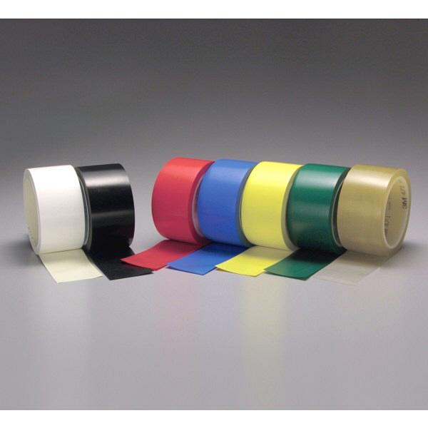スリーエム ジャパン 3M プラスチックフィルムテープ 471 赤 RED 50X18 R 1巻