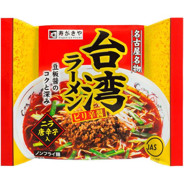 寿がきや 台湾ラーメンピリ辛醤 3食