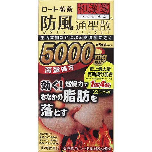 新・ロート防風通聖散錠満量 264錠