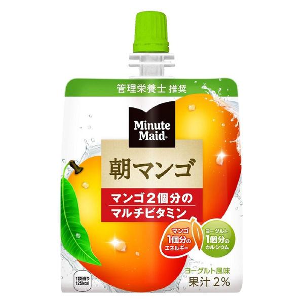 ミニッツメイド 朝マンゴ180g 6個