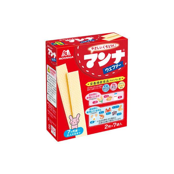 森永製菓 マンナウェファー 14枚 6個