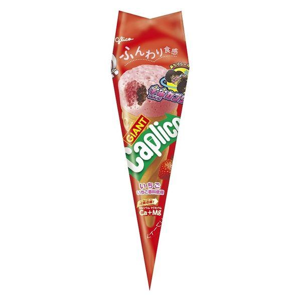 江崎グリコ ジャイアントカプリコ いちご