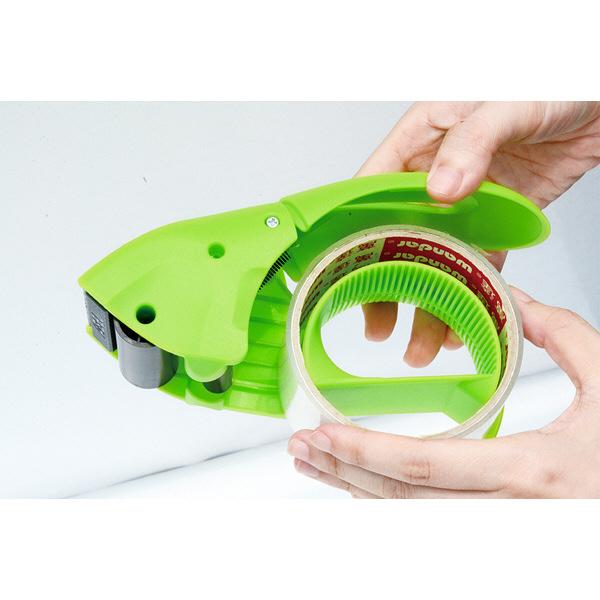 テープディスペンサー グリーン 1個