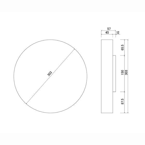 Lemnos 木枠デザイン電波時計