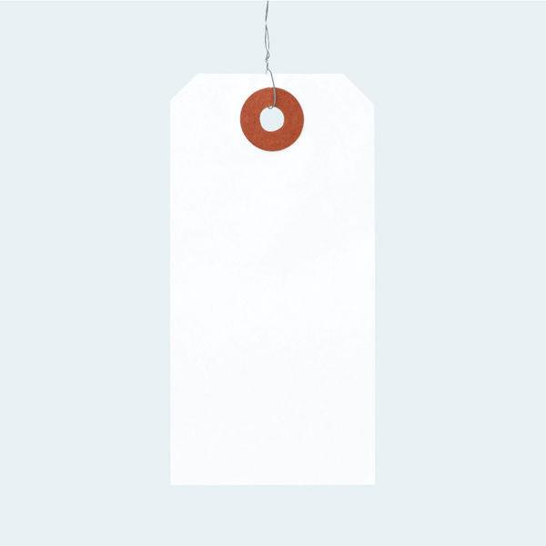 アスクル 「現場のチカラ」 針金荷札 4号(中) 1パック(200枚入)