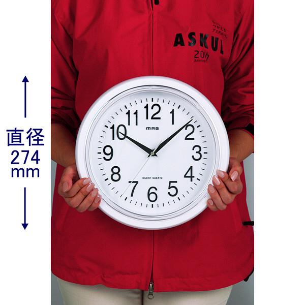 クオーツ掛時計 シロマグ