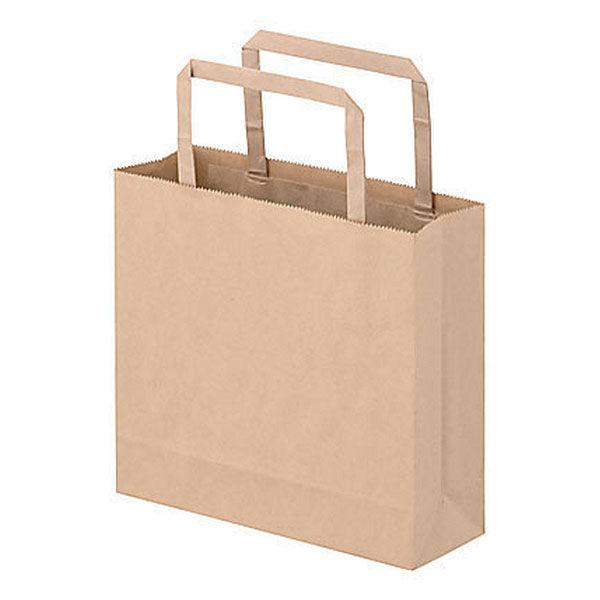 平紐 手提げ紙袋 茶 3S 900枚