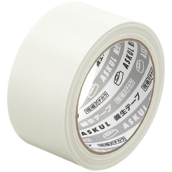 アスクル 養生テープ無包装 半透明 幅50mm×長さ25m 1セット(90巻)