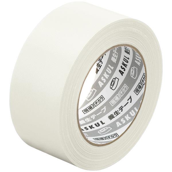 アスクル 養生テープ 半透明 幅50mm×長さ50m 無包装 1セット(150巻)