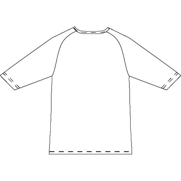インナーTシャツ シルバーグレー L