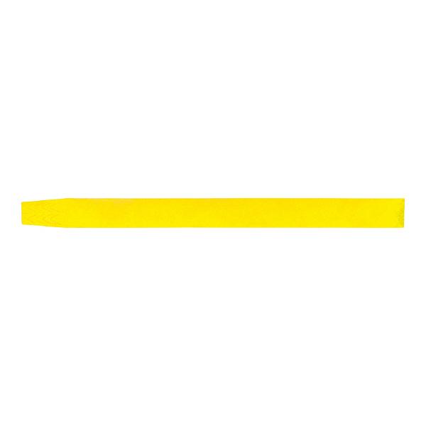 ソニック 黄 イベント用リストバンド 使い捨てタイプ NF-3567-Y 1袋(100枚)