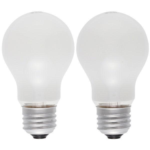オーム電機 白熱電球40W LW100V38W55/2P 1箱(24個入)