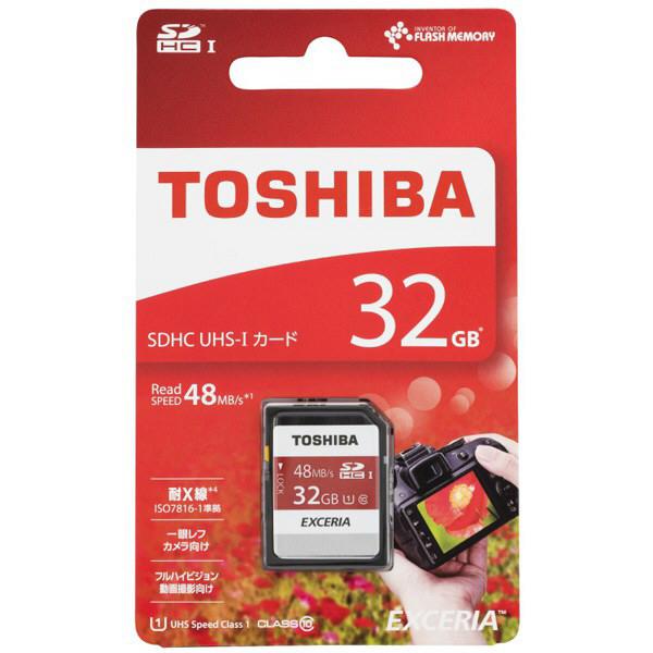 東芝 SDXC/SDHC 32GB