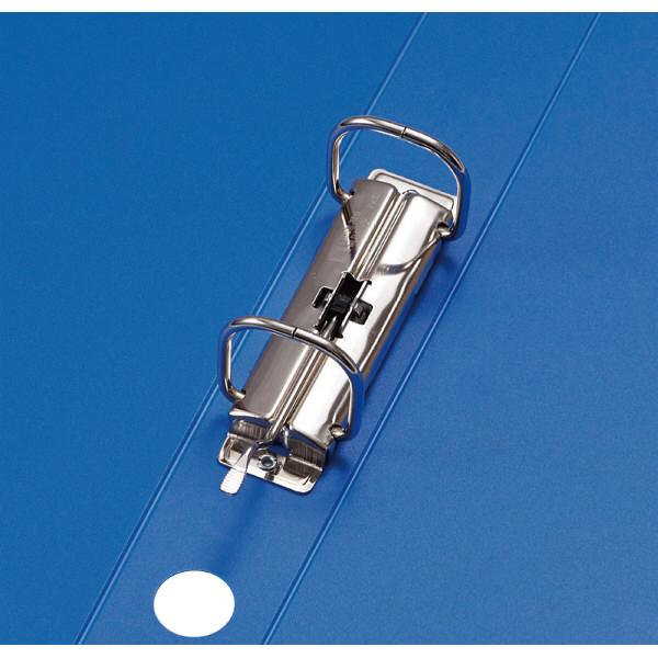 キングジム レバーリングファイル A3ヨコ 背幅33mm 青 6602アオ 1箱(10冊入)