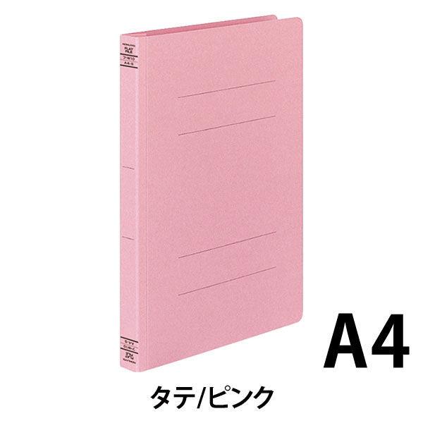 コクヨ フラットファイルW厚とじ A4タテ 30冊 ピンク フ-W10NP