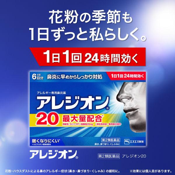 アレジオン20 6錠