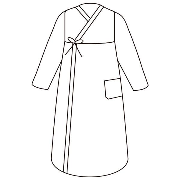 婦人打合せネグリジェ パープル M 38651-11 1セット (取寄品)