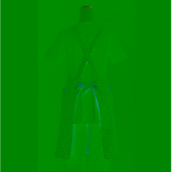 【メーカーカタログ】 サンペックスイスト エプロンCDPー901 ピンク L CDP-901-PK 1枚  (取寄品)